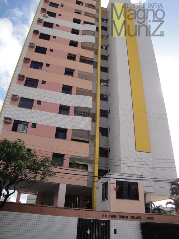 Edifício Twin Tower Village - Apartamento para alugar no Papicu, Fortaleza.