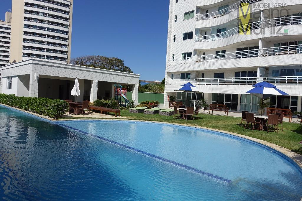 Edifício Ilha do Mel - Edson Queiroz - Perfeito para morar em uma localização privilegiada