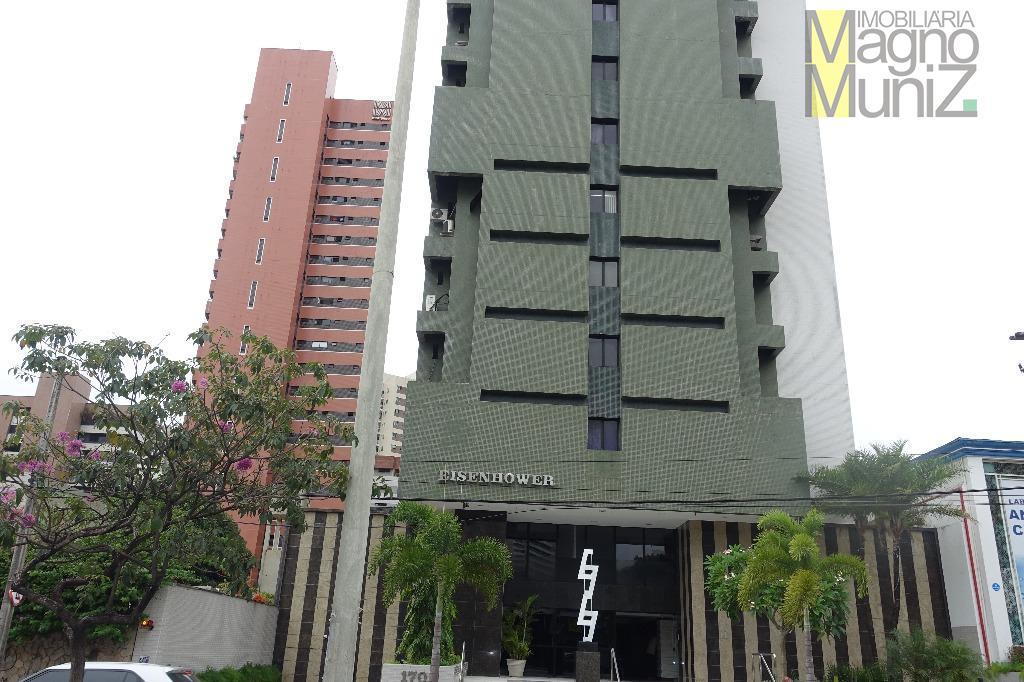 Sala comercial mobiliada com excelente localização e acabamento no Meireles