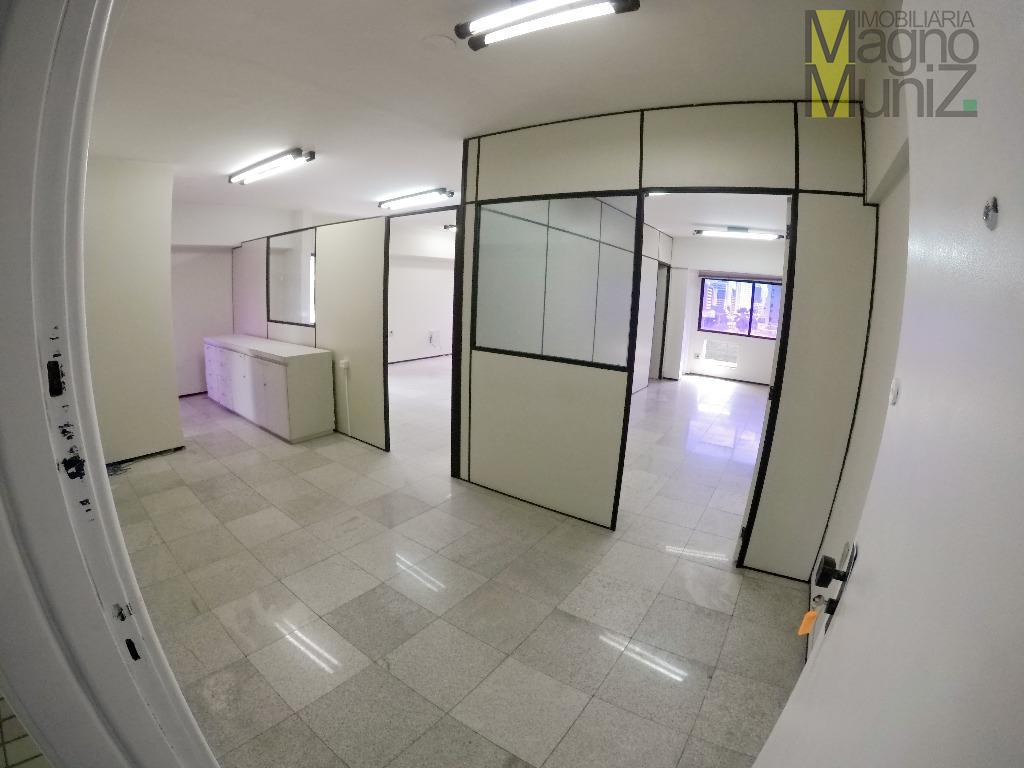 Sala comercial para locação, Aldeota, Fortaleza.