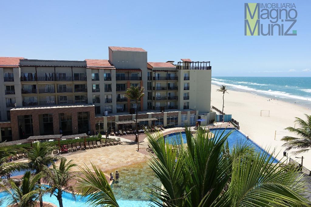 o resort mais próximo ao mar de todo porto das dunas- beach park acqua resort -apartamento...