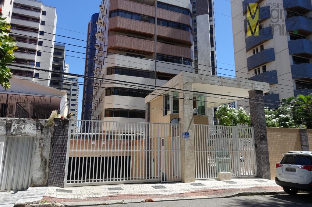 Apartamento na Aldeota disponível para venda ou locação