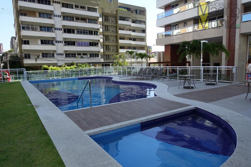 Maravilhoso apartamento novo com 126 m², no coração da Aldeota.