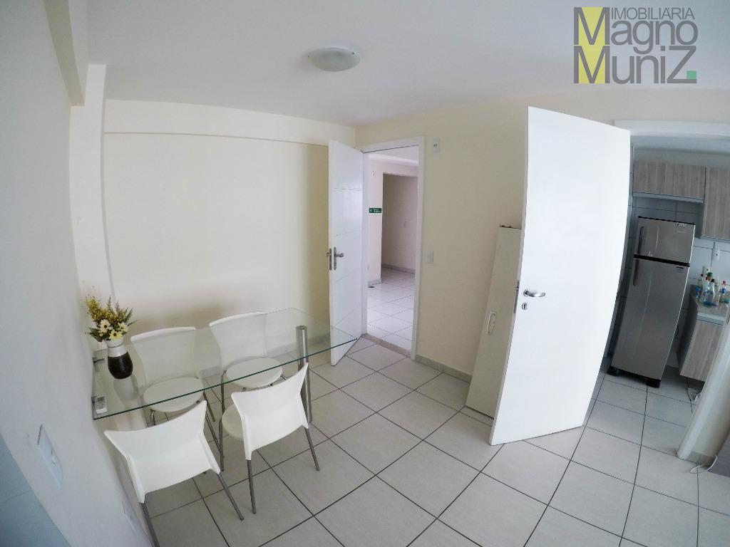 Ed. Travertino Condomínio Club - 3 quartos, cozinha projetada, R$425.000