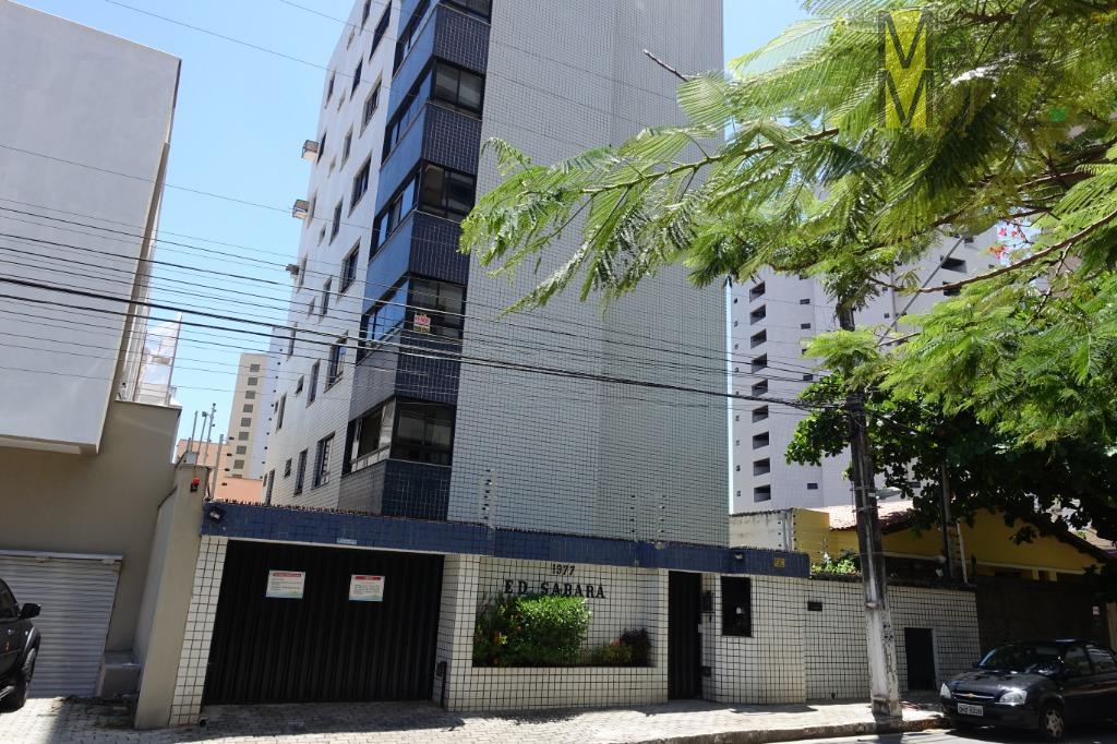 Apartamento na Aldeota com 3 suítes, à venda por R$ 295.000