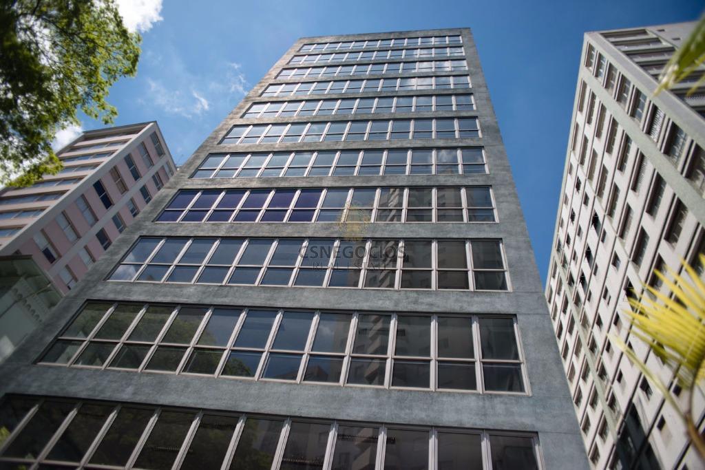 Prédio monousuário para locação na Bela Vista, próximo a Pro Matre e Metrô Brigadeiro, 7900m2 de área construída. 12 andares