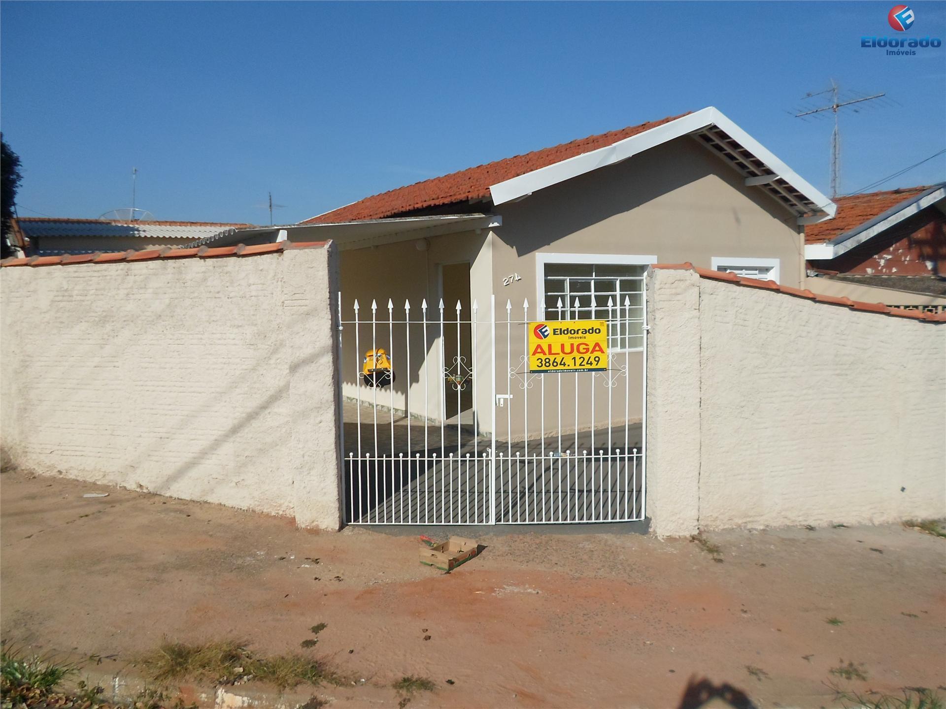 Casa  residencial para locação, Jardim Dal Orto, Sumaré.