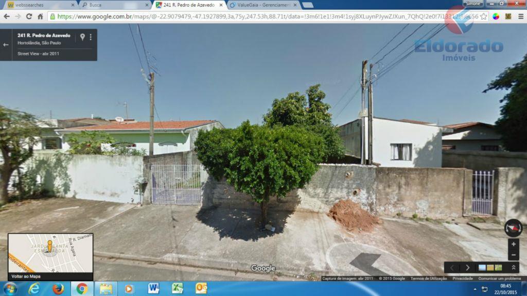 Edícula  residencial à venda, Jardim Santa Esmeralda, Hortolândia.
