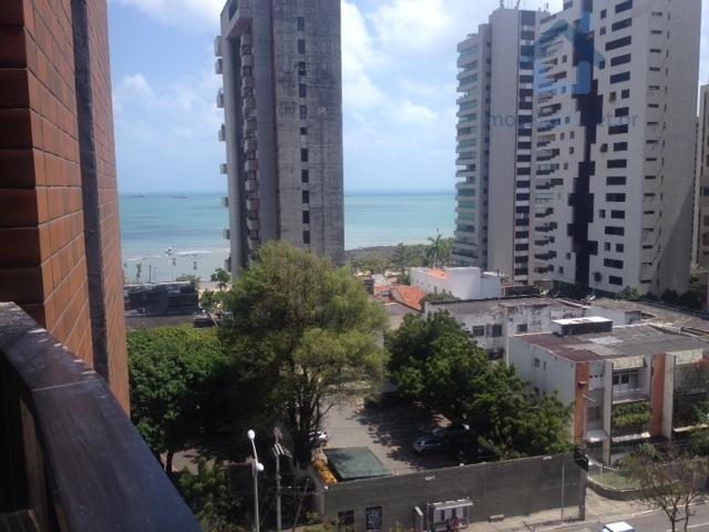 Flat todo reformado nunca usado.Vista Mar,Nascente no Meireles.