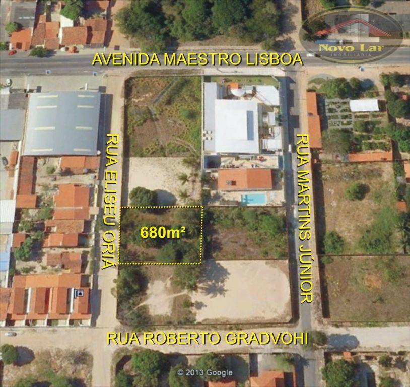 Terreno comercial para venda e locação, José de Alencar, Fortaleza - TE0017.