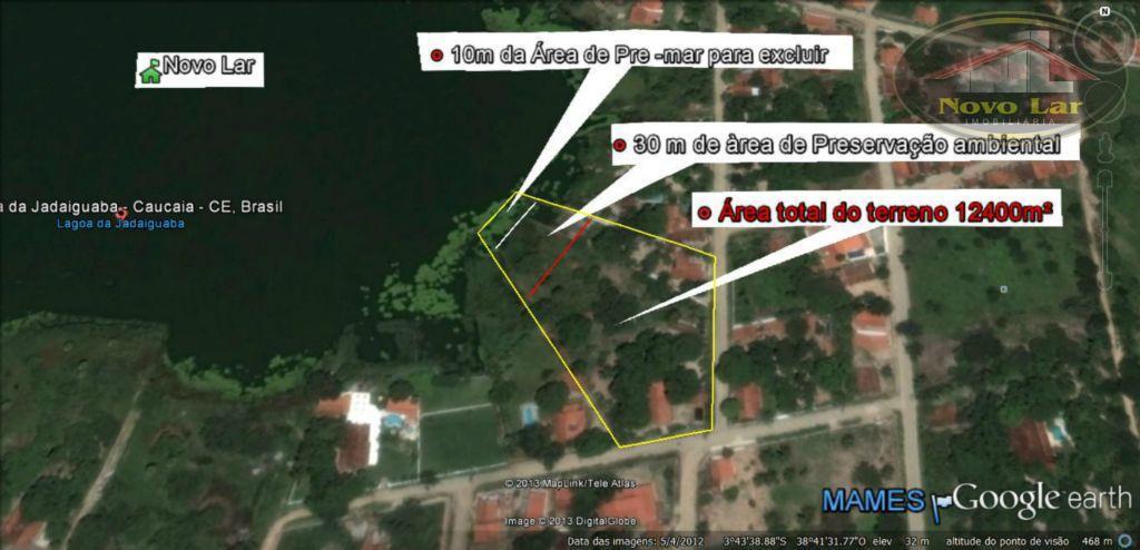 Terreno comercial à venda, Jandaiguaba, Caucaia - TE0012.
