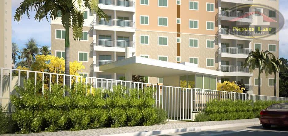 Apartamento residencial à venda, Maraponga, Fortaleza - AP0325.