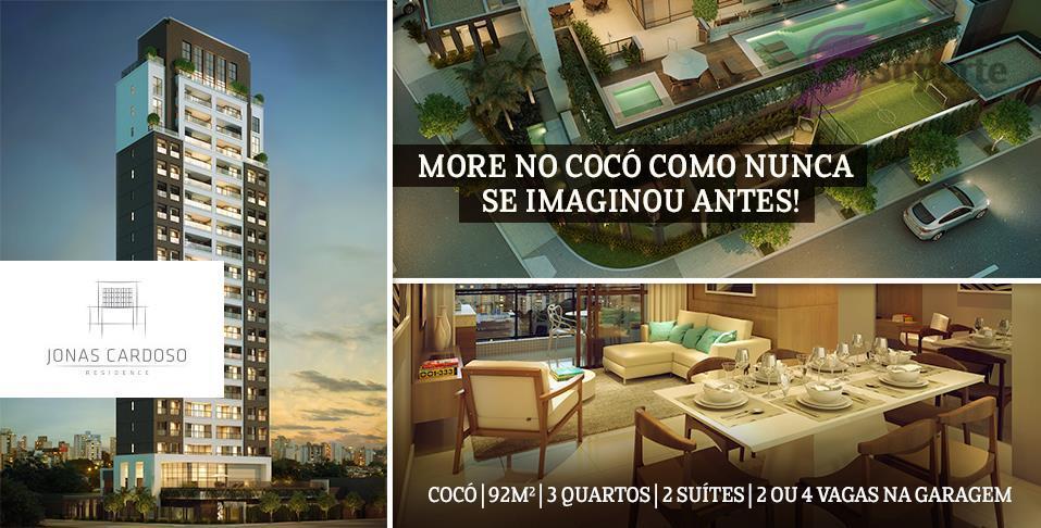 Apartamento de 92m² no Cocó