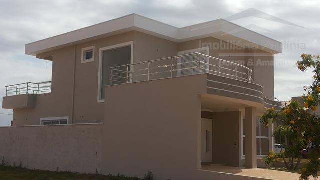 Casa de 3 dormitórios em Condomínio Reserva Real, Paulínia - SP