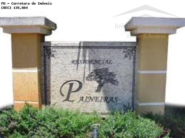 Terreno em Condomínio Paineiras, Paulínia - SP