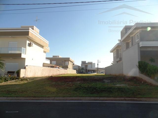 Terreno residencial à venda, Condomínio Villa Lobos, Paulínia.