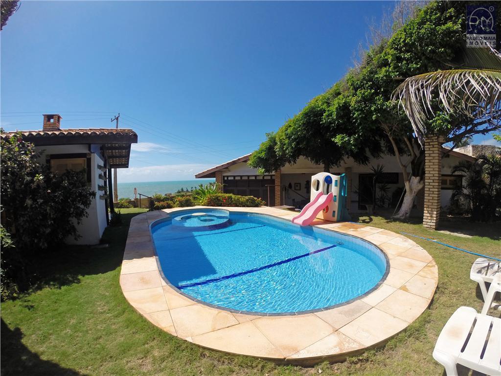 Casa  residencial à venda, Praia das Fontes, Beberibe.