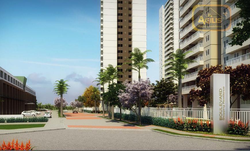 Apartamento residencial à venda, Presidente Kennedy, Fortaleza - AP0221.