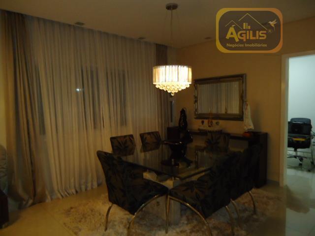 vende excelente duplex de luxo no cond. ouro branco - linda pronta para morar, sala com...