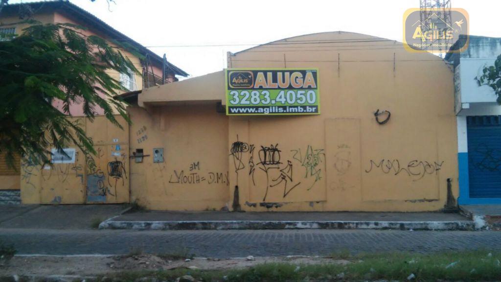 Galpão comercial para locação, Conjunto Ceará, Fortaleza - GA0006.