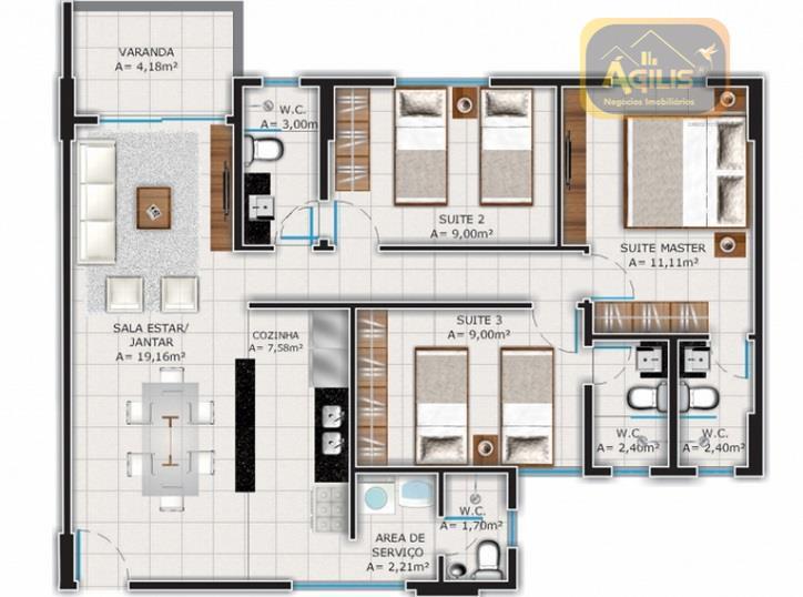 já pensou em morar com conforto, segurança e tranquilidade? lançamento de belíssimos apartamentos no park brasil...