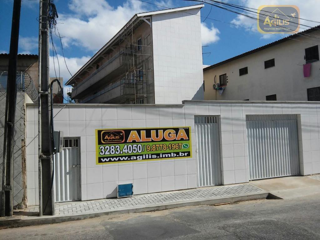 Apartamento com 1 dormitório para alugar, 32 m² por R$ 500/mês - Montese - Fortaleza/CE