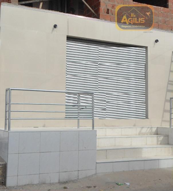 novíssimo ponto comercial para alugar no bairro do araturi, todo no porcelanato, paredes com textura e...