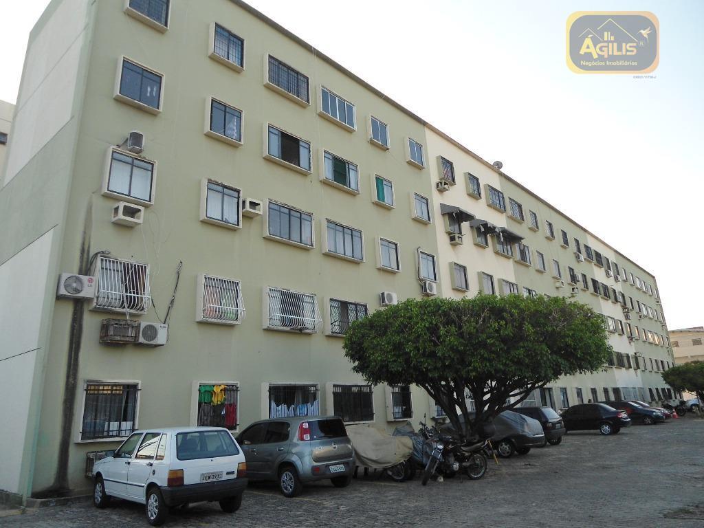 Apartamento com 2 dormitórios para alugar, 53 m² por R$ 499/mês - Bela Vista - Fortaleza/CE