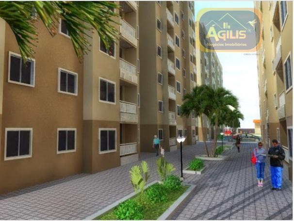 excelente apartamentos à venda no tabapuá com entrada facilitada, com ampla área de lazer, 02 quartos...