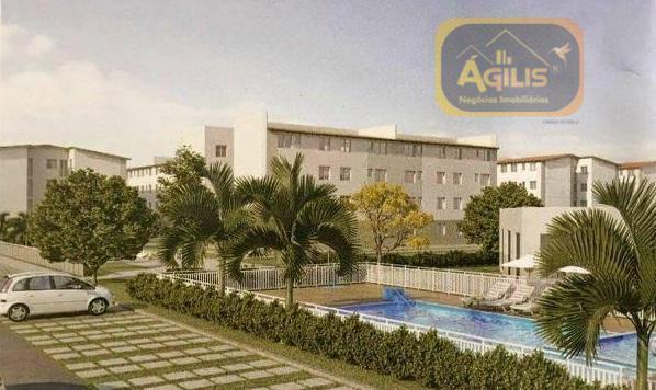 Apartamento residencial à venda, Araturi (Jurema), Caucaia.