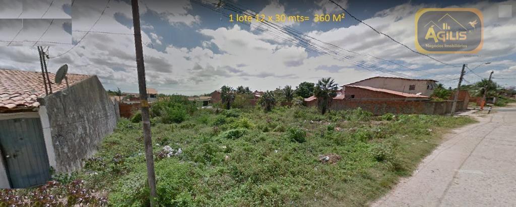 Terreno à venda, 360 m² por R$ 50.000 - Siqueira - Fortaleza/CE