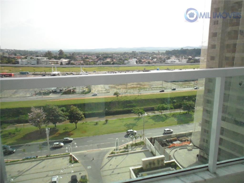 Apartamento com 1 dormitório para alugar, 50 m² por R$ 1.300/mês - Jardim das Colinas - São José dos Campos/SP