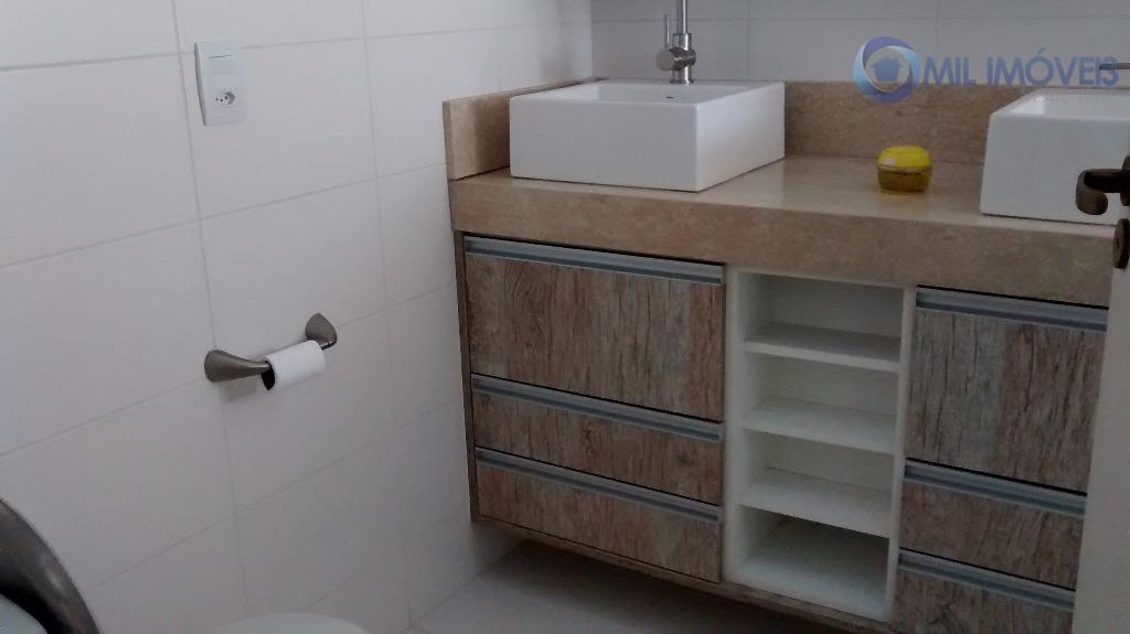excelente apartamento mobiliado, 3 suítes, cozinha cook top, geladeira, forno micro ondas, sofá, mesa com 8...