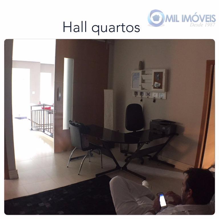 mirante do vale - sobrado 4 suítes sendo 1 master com hidromassagem sala de estar sala...