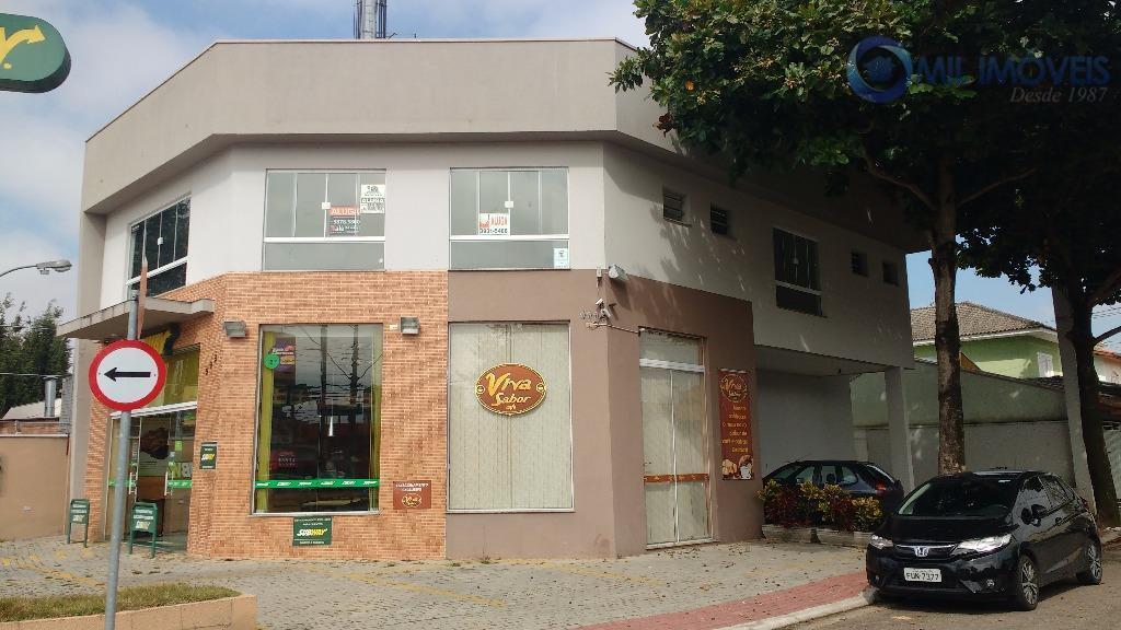 Sala comercial para locação, Jardim das Indústrias, São José dos Campos.