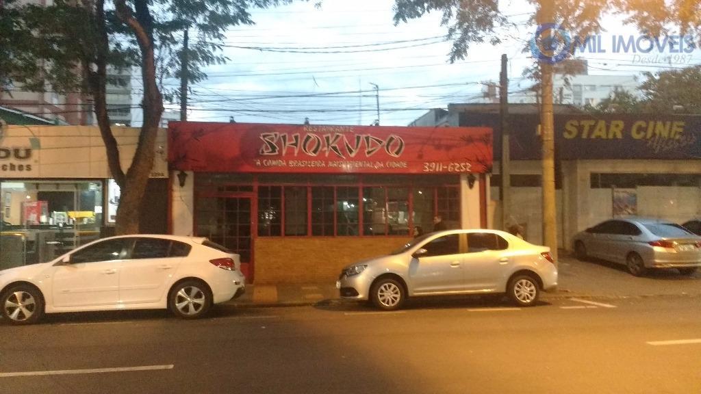 Ponto comercial para locação, Vila Adyana, São José dos Campos.