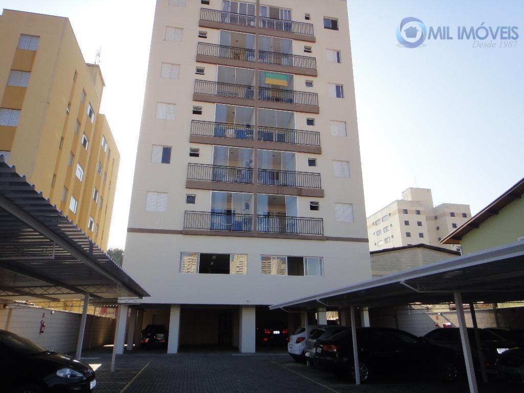 Apartamento residencial para locação, Jardim das Indústrias, São José dos Campos.