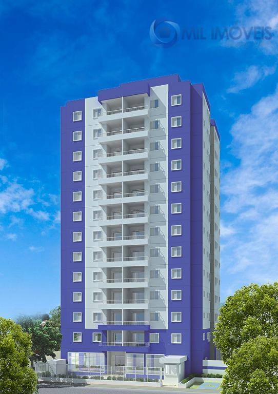 Apartamento residencial à venda, Jardim das Indústrias, São José dos Campos - AP1344.