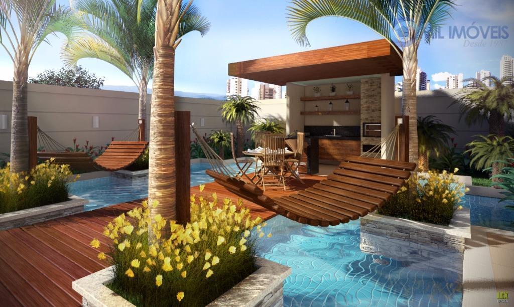 aquarius - apartamento com 3 dormitórios e suite,cozinha,sala,área de serviço.lazer completo e vaga de garagem.localizada na...
