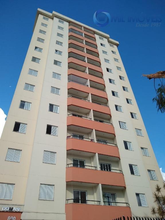 Apartamento com 2 dormitórios para alugar, 63 m² por R$ 1.400/mês - Jardim das Indústrias - São José dos Campos/SP