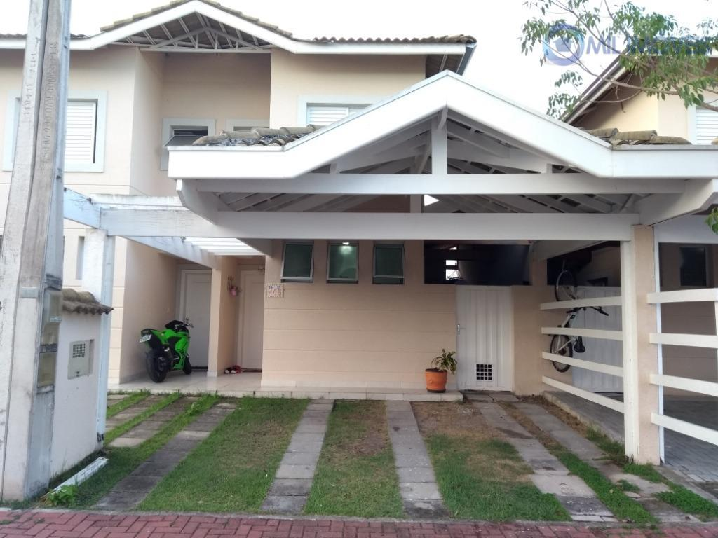 Sobrado com 2 dormitórios à venda, 68 m² por R$ 360.000 - Loteamento Villa Branca - Jacareí/SP