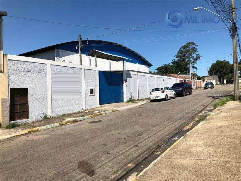 Galpão comercial para venda e locação, Putim, São José dos Campos.