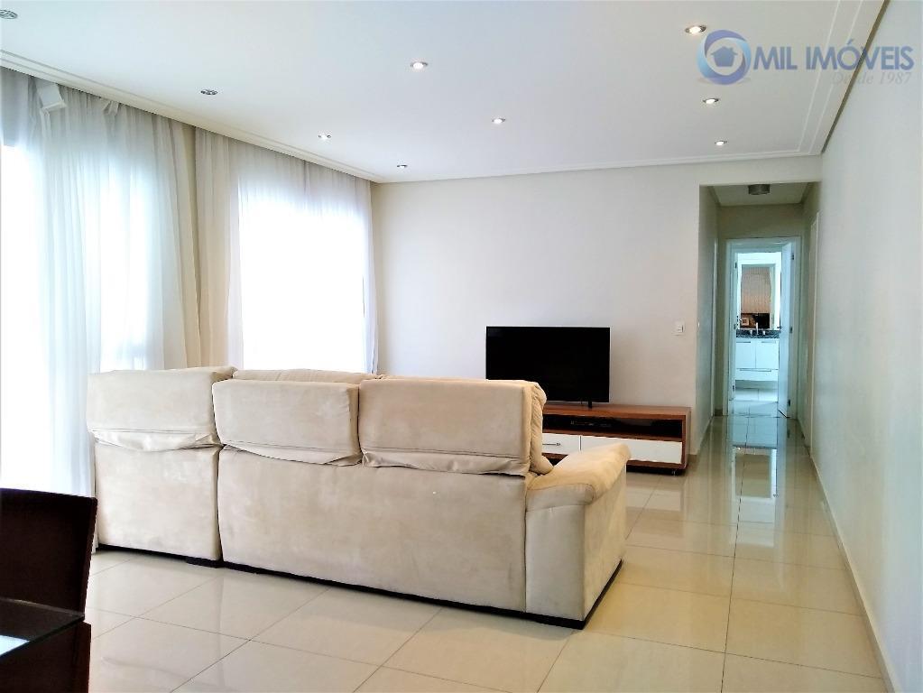 Jardim das Industrias - Splendor Blue - Apartamento - Sala com varanda gourmet, 3 suítes, lazer completo - São José dos Campos