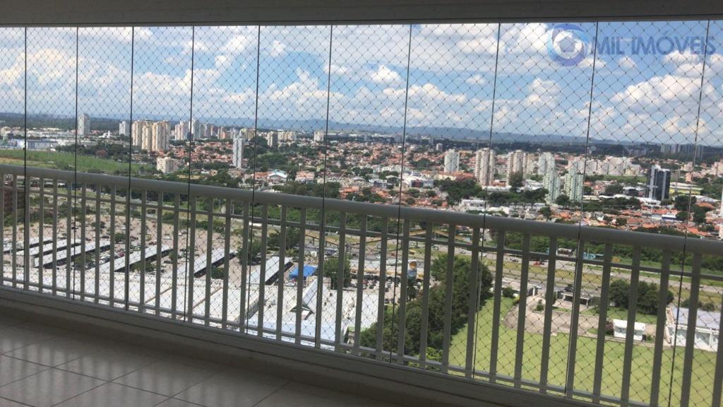 Apartamento com 4 dormitórios para alugar, 125 m² por R$ 2.800/mês - Jardim Aquarius - São José dos Campos/SP