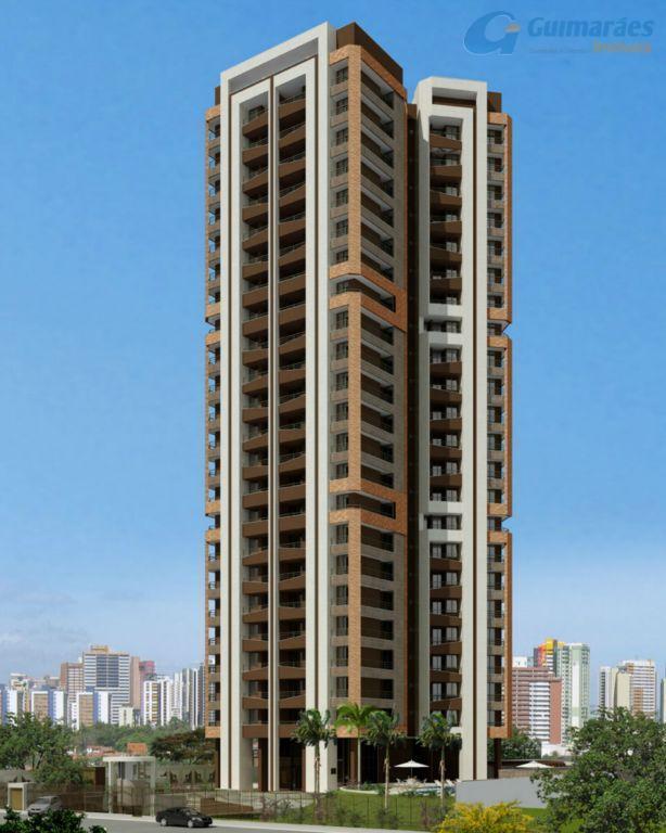 Apartamento residencial à venda, Aldeota, Fortaleza - AP0246.