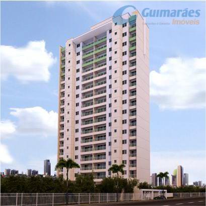 Apartamento residencial à venda, Fátima, Fortaleza - AP0256.