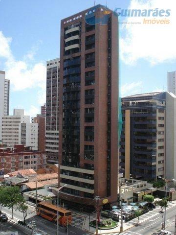 Apartamento residencial à venda, Meireles, Fortaleza - AP1338.