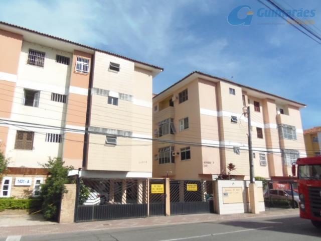Apartamento residencial à venda, José Bonifácio, Fortaleza.