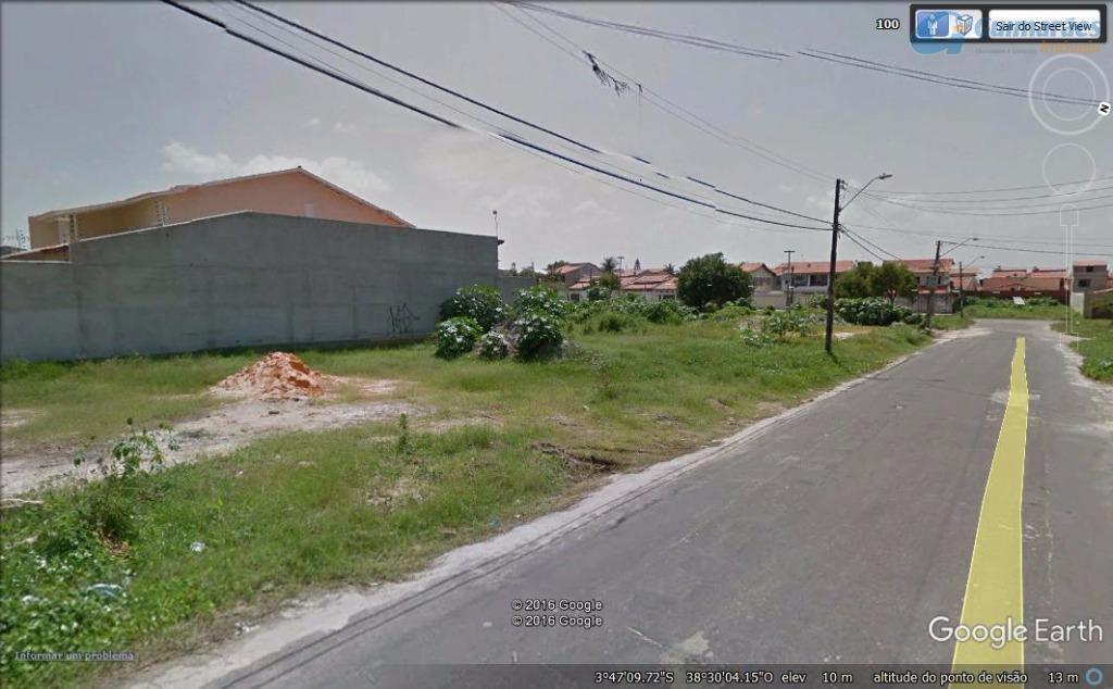 Terreno residencial à venda, Cidade dos Funcionários, Fortaleza.