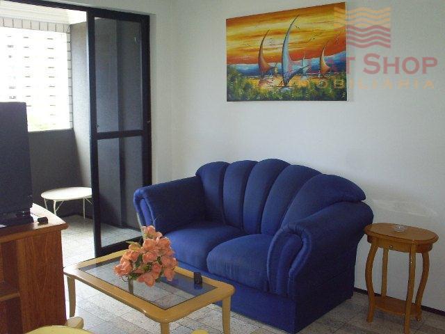 Apartamento um quarto,locação por temporada na Praia de Iracema, Fortaleza.